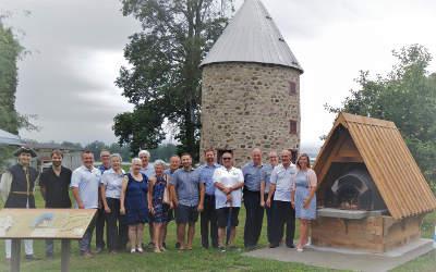 Un four à pain au moulin: un legs pour le 350e anniversaire de Contrecœur