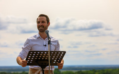 Cédric G.-Ducharme lance officiellement sa campagne et annonce des engagements porteurs en matière d'environnement