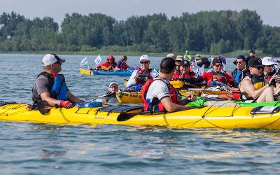 Le Défi kayak Desgagnés 2018 couronné de succès:  180 000 $ amassés pour les jeunes provenant de milieux à risque