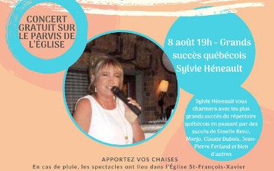 Verchères en Musique accueille Sylvie Héneault