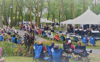 Les Rendez-Vous du parc Cartier-Richard de Contrecœur, une série d'événements culturels populaires qui se démarque