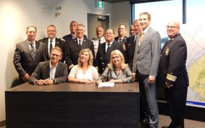 Signature d'un protocole régional pour offrir des services d'urgence en milieu isolé