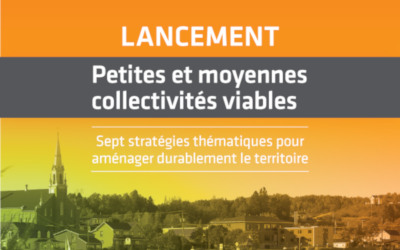 Vivre en Ville présente « Petites et moyennes collectivités viables »