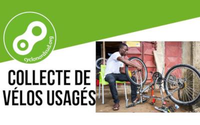 Verchères: collecte de vélos usagés