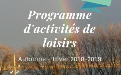 Verchères: programme d'activités et loisirs automne-hiver