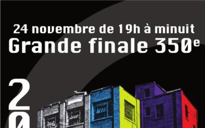 Le 24 novembre, la ville de Contrecœur se propulse dans le futur pour la Grande finale des festivités du 350e