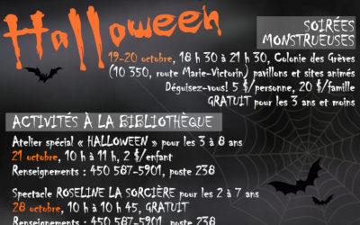 L'Halloween à Contrecoeur: une foule d'activités pour toute la famille