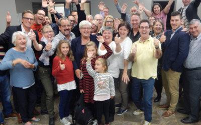 Verchères: Suzanne Dansereau remporte une chaude lutte