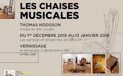 Saint-Antoine-sur-Richelieu: Exposition Les chaises musicales – Thomas Hodgson