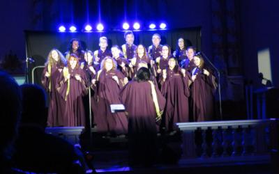 Le spectacle des Gospangels à l'église Saint-François-Xavier de Verchères: un franc succès!