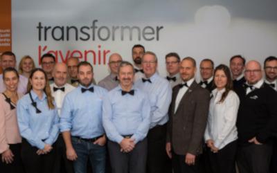ArcelorMittal et ses employés soulignent une 4e fois «Noeudvembre» pour appuyer la lutte au cancer de la prostate