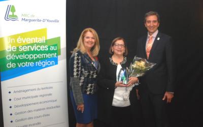 Prix Marc St-Cerny pour l'implication citoyenne: Nicole Chagnon-Brisebois, lauréate 2018