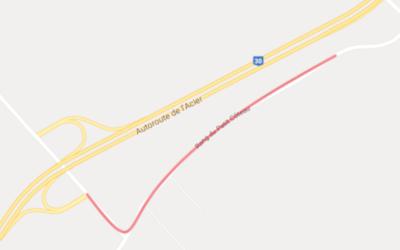 Piste cyclable « Entre-deux-rives » à Verchères: début des travaux