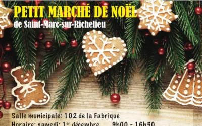Le petit marché de Noël de Saint-Marc-sur-Richelieu: un rendez-vous à ne pas manquer avec des artisans locaux