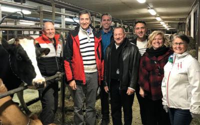 Le Conseil municipal de Verchères appuie les producteurs laitiers canadiens