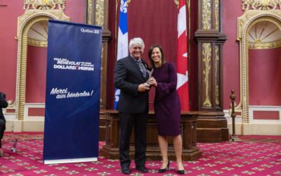 Varennes: le conseil municipal félicite le Varennois Jean Poulin, récipiendaire du Prix Dollard-Morin