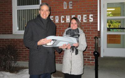 La Municipalité de Verchères modernise son réseau d'éclairage public