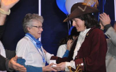 Pour souligner un engagement exceptionnel envers Contrecoeur: l'Ordre de Pécaudy décerné à Mme Suzanne Parmentier