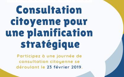 Consultation citoyenne pour une planification stratégique à Verchères