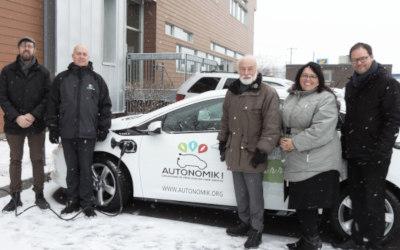 L'application mobile et les véhicules d'Autonomik! En opération le 14 décembre dans la Vallée-du-Richelieu