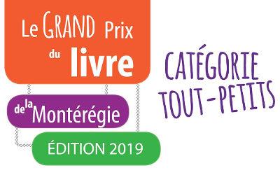 Lancement officiel du Grand Prix du livre de la Montérégie, catégorie tout-petits