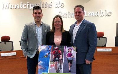 Le Triathlon de Saint-Amable lance la Coupe des villes