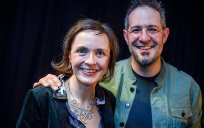 Remise des prix 2019 organisée par Culture Montérégie: Festival Chants de Vielles, Élisabeth Desbiens et Yechel Gagnon, grands gagnants
