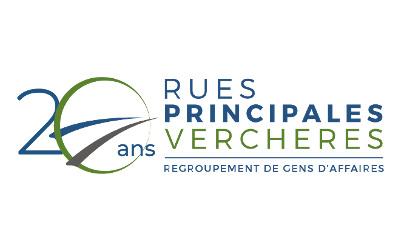 Un logo de circonstance pour les 20 ans de Rues principales Verchères