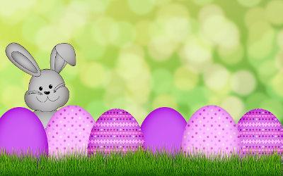 À l'occasion de Pâques: décore la Maison de la culture Eulalie-Durocher
