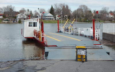 Crue des eaux: la traverse de Saint-Roch-de-Richelieu temporairement fermée