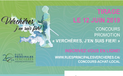 Troisième édition de la promotion « Verchères, j'en suis fier! » avec un concours entièrement sur le Web