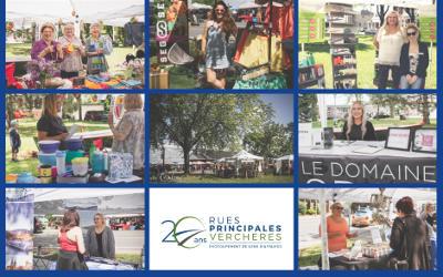 Une deuxième foire commerciale extérieure pour Rues principales Verchères et ses membres