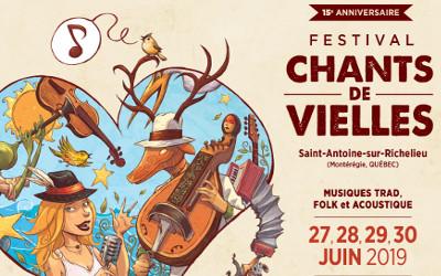 15e anniversaire de Chants de Vielles: début des festivités ce jeudi!