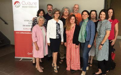 Culture Montérégie réunit ses membres et présente son conseil d'administration