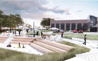Contrecoeur: un tout nouveau design urbain à la place François-De Sales-Gervais